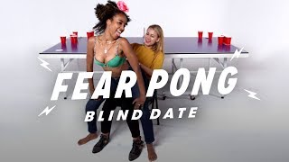 Blind Dates Play Fear Pong (Saba vs. Jorden) | Fear Pong | Cut
