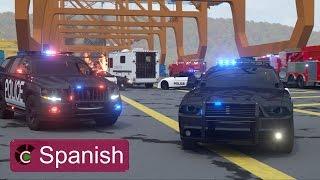Sargento Cooper, la Patrulla de Policía 2 (SPANISH)- Verdaderos Héroes de Ciudad   Videos para niños