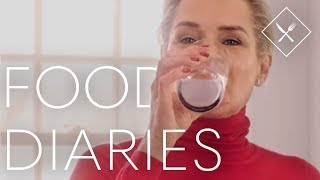 Everything Yolanda Hadid Eats In a Day   Food Diaries   Harper