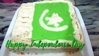 Independence Day Cake | 14th August Cake Recipe | Pakistan Independence Cake | Jairy