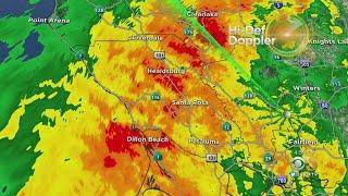 Rare May Storm System Brings Rain To Bay Area
