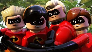 "LEGO THE INCREDIBLES Gameplay Walkthrough Chapter 11 ""Above Parr"" 1080p 60FPS"