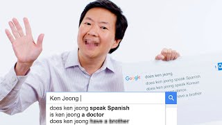 Ken Jeong Answers the Web