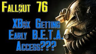 Fallout 76: Xbox To Get BETA Early Access