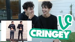 REACTING TO OUR OLD CRINGEY VINES!
