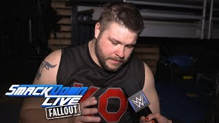 Will Kevin Owens be able to compete at the Royal Rumble?: SmackDown LIVE Fallout, Jan. 23, 2018