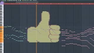 What 👍 Sounds Like - MIDI Art