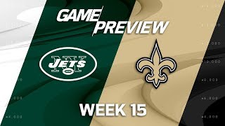 New York Jets vs. New Orleans Saints | NFL Week 15 Game Preview | NFL Playbook