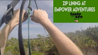 Zip on! Empower Adventures is the ideal destination for adrenaline seekers