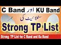 Strong  TP List for Different  Satellite...mp3