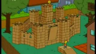 simpsons Box fort.mpg