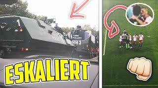 FUSSBALL SPIEL ESKALIERT !!? 👊🏼⚽️ |HSV - Bremen |Stadion VLOG | Marlon