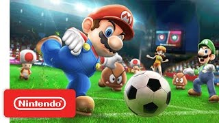 Mario Sports Superstars - Nintendo 3DS Soccer Trailer