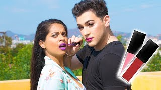Lipstick That Changes the Way You Talk! (ft. Manny Mua)