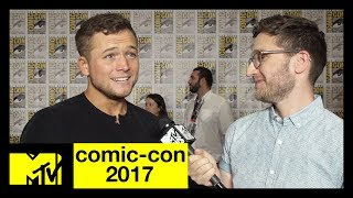 Taron Egerton Talks Kingsman: The Golden Circle | Comic-Con 2017 | MTV