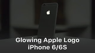 Glowing Apple Logo - iPhone 6 / iPhone 6S