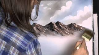 Melted Mountain - Painting Lesson