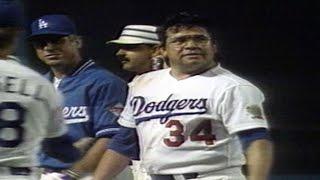 Valenzuela finishes his no-hitter