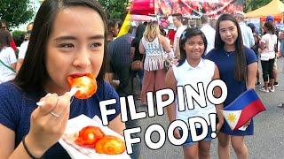 Trying Filipino Street Food + Meeting Viewers!