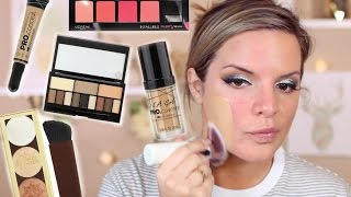 Talk Thru Tutorial Testing NEW DRUGSTORE MAKEUP! | Casey Holmes