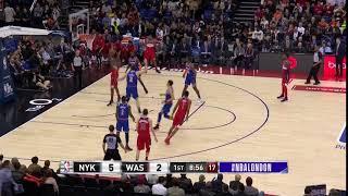1st Quarter, One Box Video: Washington Wizards vs. New York Knicks