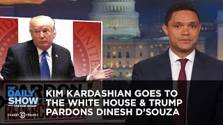 Kim Kardashian Goes to the White House & Trump Pardons Dinesh D