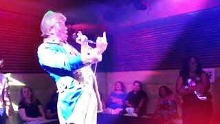 Anti-Trump Gay Karaoke Night CRASHED by Crowder... as Trump!