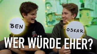 Wer würde eher... eine Woche OHNE INTERNET leben? 😨 | Oskar