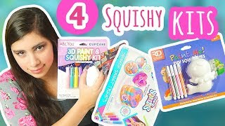 Testing 4 Cheap Squishy Kits. Which one is best??