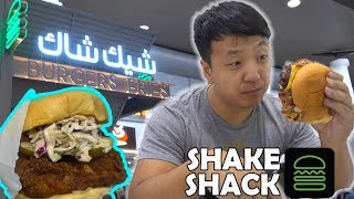 First Time in INDIA & Shake Shack in Kuwait