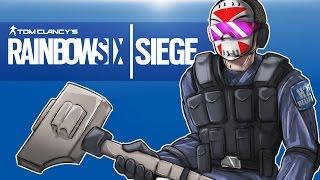 Rainbow Six: Siege - Seriouslirious mode! (Full Match) Sledge dem!