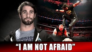 Seth Rollins feels fearless heading into The Royal Rumble