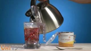 IngenuiTea Loose Leaf Tea Teapot (16 oz)