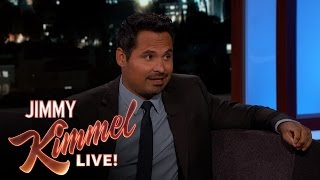 Michael Peña on Dax Shepard Being Naked in CHIPS