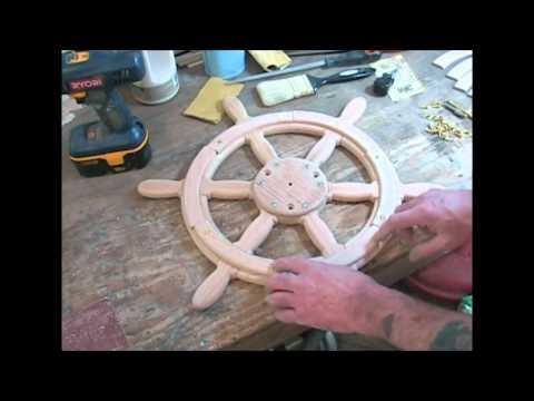 Как сделать штурвал для корабля своими руками