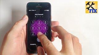 How to unlock iphone when forgot password