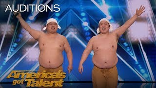 Yumbo Dump: Comedic Duo Makes Unbelievable Sounds With Their Bodies - America