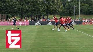 Corentin Tolisso im Training: Seine ersten Schritte als Bayern-Spieler