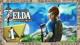 THE LEGEND OF ZELDA BREATH OF THE WILD Part 1: Die Wildnis ruft, Link! Öffne deine Augen!