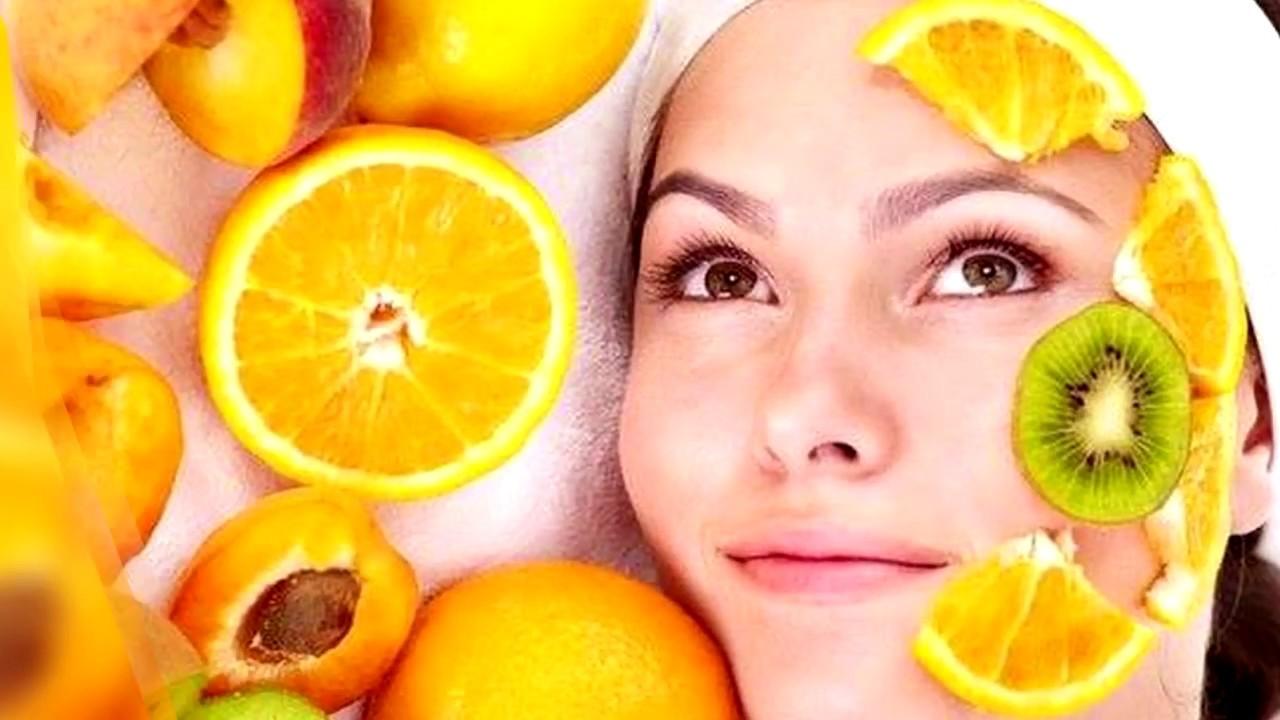 Как сделать лицо фрукт