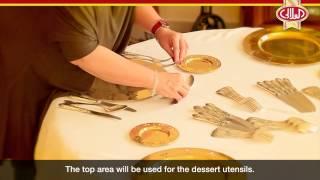 أساسيات ترتيب مائدة الطعام وإتيكيت الضيافة: ترتيب سفرة العلالي للعشاء بلمسة ساحرة
