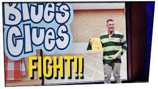 John Cena Challenged By Former Blue's Clues Host ft. Steve Greene & DavidSoComedy