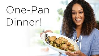 Tia Mowry's Simple Sheet Pan Dinner | Quick Fix