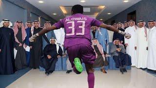 محمد العويس يغني ويطرب جمهور الاهلي + كلمة اللاعب للجمهور 😍💚