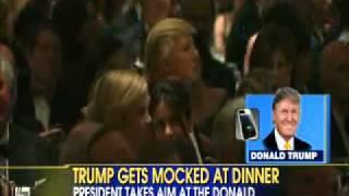 Donald Trump Responds To Obama & Seth Meyers Roasting Him At Dinner!