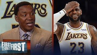 Isiah Thomas explains how the NBA has failed LeBron James   NBA   FIRST THINGS FIRST