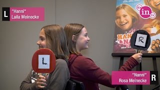 """Hanni & Nanni"": Laila und Rosa im Kennlern-Spiel!"