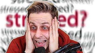 Bringt mich der STRESS auf YOUTUBE um?! (BURNOUT TEST)!
