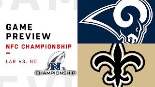 Los Angeles Rams vs. New Orleans Saints | NFC Championship Game Preview | Move the Sticks