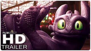 HOW TO TRAIN YOUR DRAGON 3: All NEW Trailers + Clips (2019)